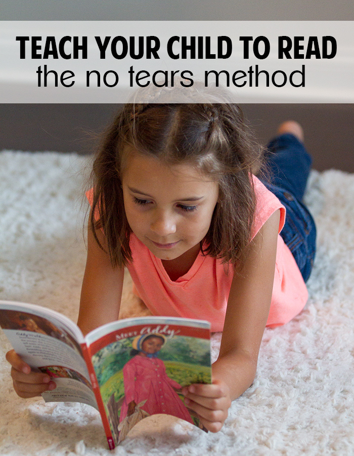Teach your child to read! No tears, no stress!
