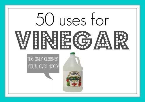 50 uses for vinegar!