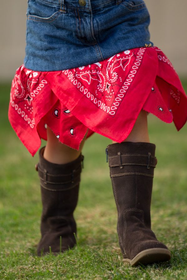 """Make a bandana skirt + 19 other ways to save """"too small"""" clothes"""