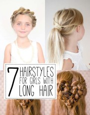 7 hairstyles girls with long