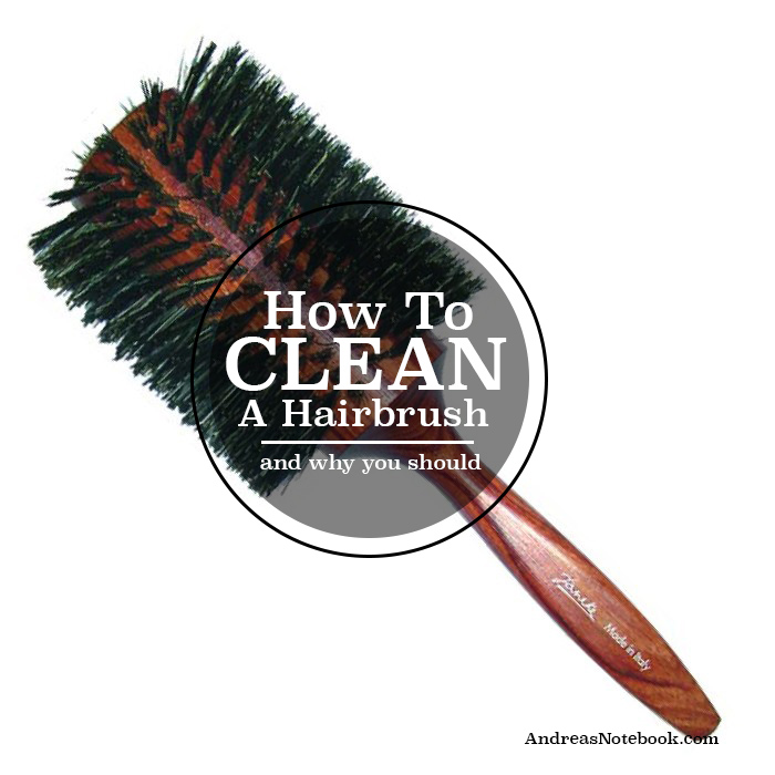 How to clean a hairbrush!