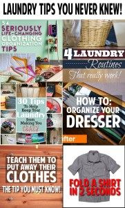 Light Bulb moment! Laundry tips you never knew and will be so glad you learned!