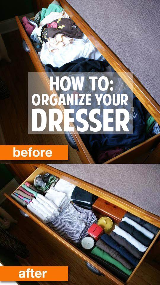 5 fantastic tips for organizing your dresser