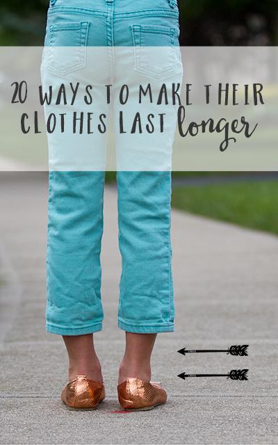 Genius! 20 Ways To Make Clothes Last Longer