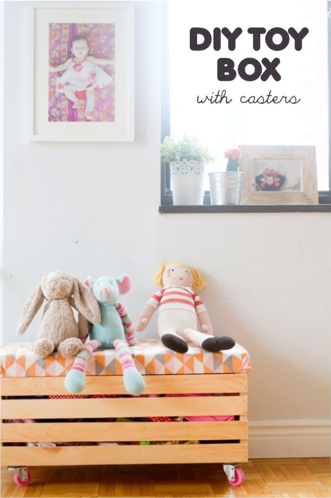 toy box bench tutorial by This Little Street