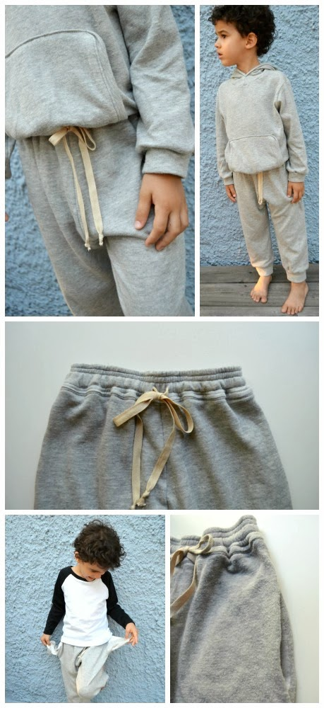 Free sweatpants pattern by E&E