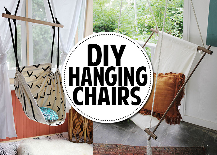 You can make a hanging chair  Andreas Notebook