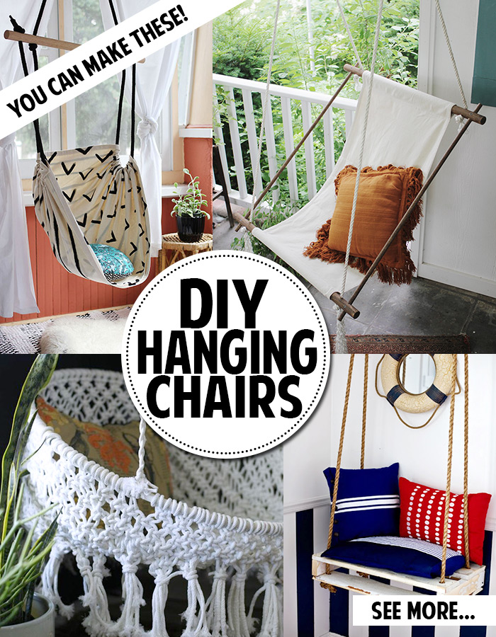 You Can Make A Hanging Chair Andrea S Notebook