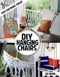 You can make a hanging chair! - Andrea's Notebook