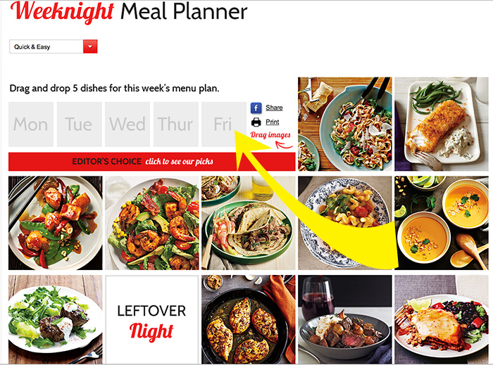 Super easy meal planning with this awesome website!