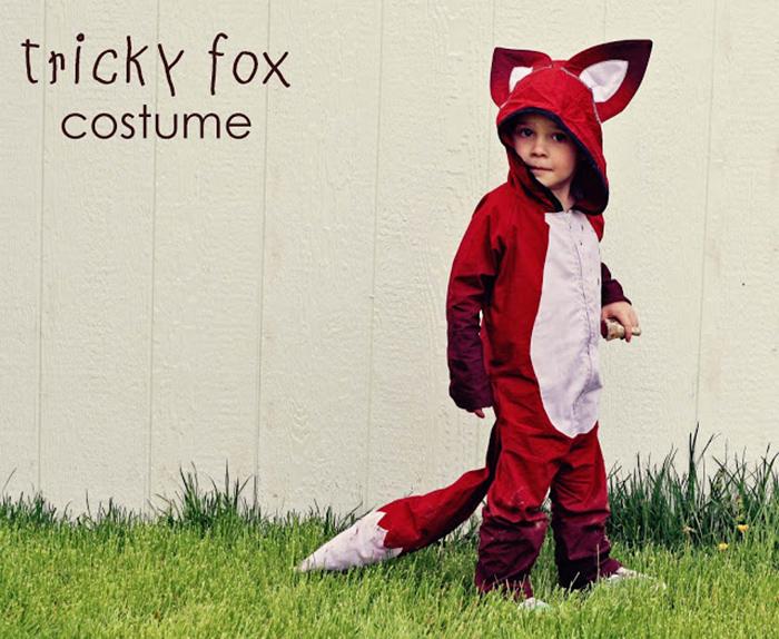 fox costume tutorial
