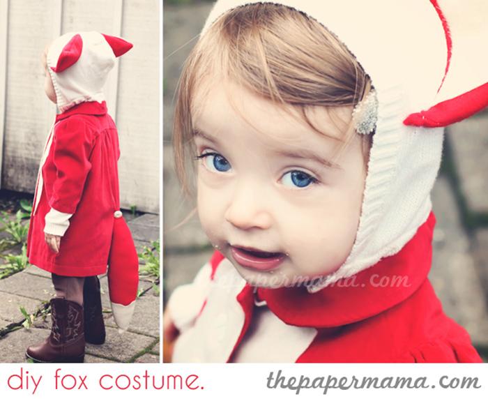 simple diy fox costume