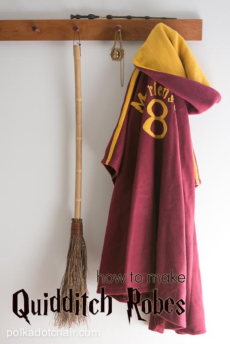 FREE Quidditch robe pattern