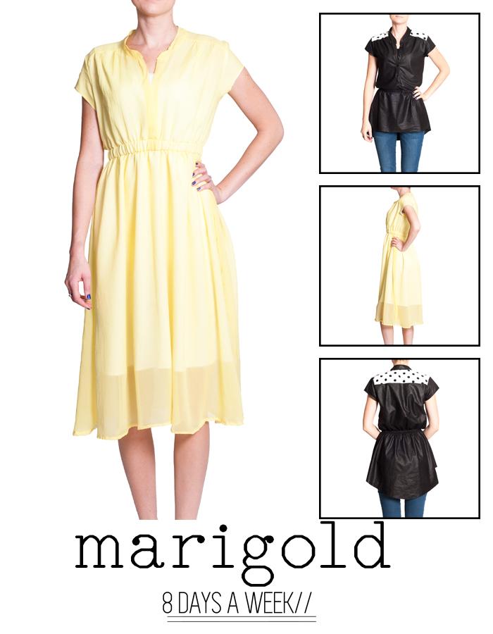 Marigold dress pattern for women