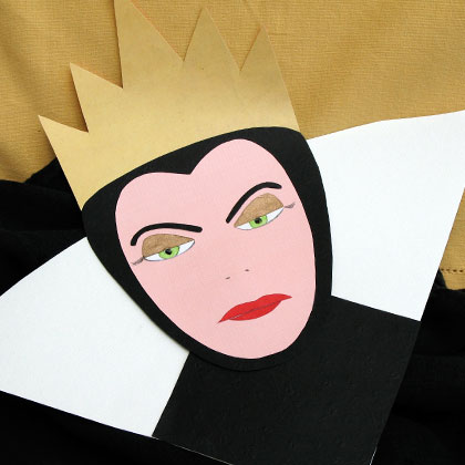 Evil Queen mask printable