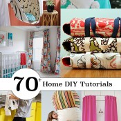Over 70 amazing tutorials to make for your home - AndreasNotebook.com