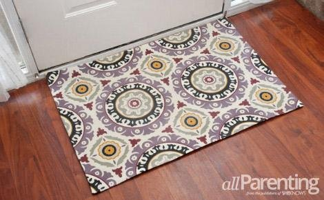 DIY rug! This method is so easy!