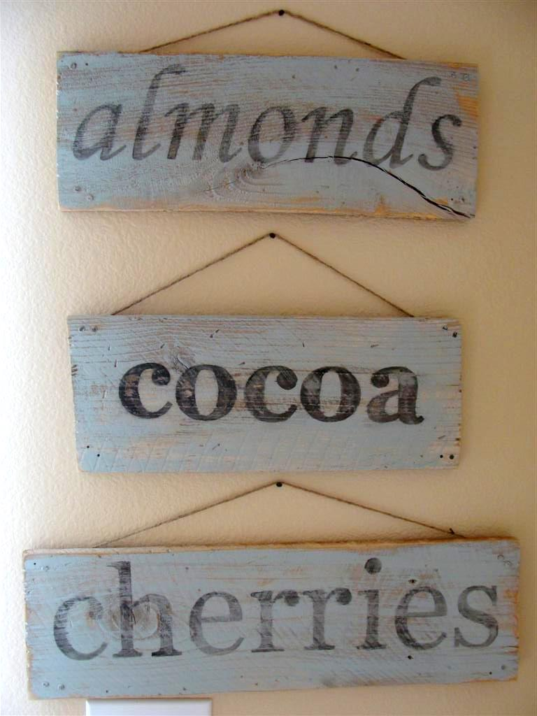 DIY vintage sign tutorial