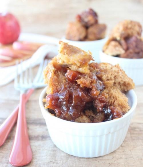 Crock pot pumpkin apple monkey bread