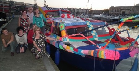 Knitted Boat