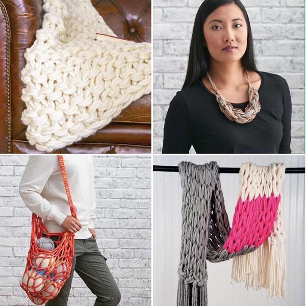 14 arm knitting tutorials