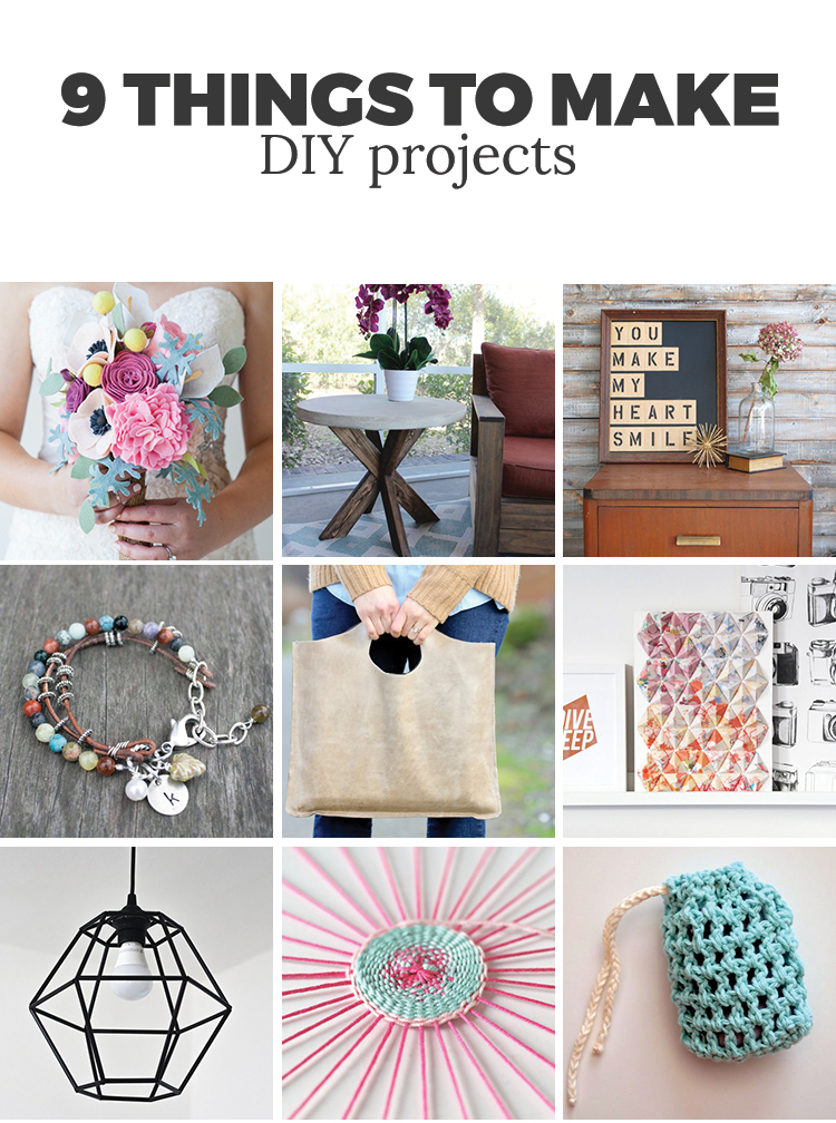 9 DIY projects to make