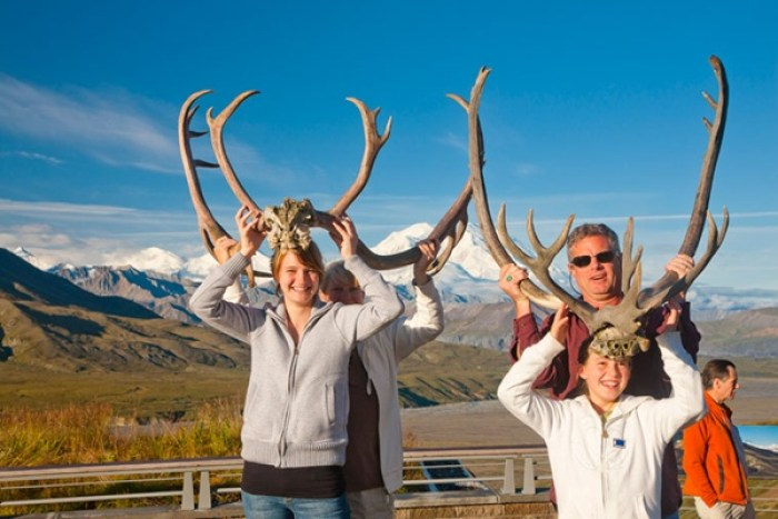 25 Family Vacations for Active Kids (Alaska antlers)