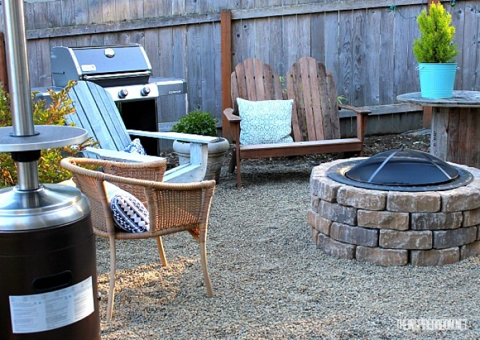 Easy DIY Fire Pit Tutorial