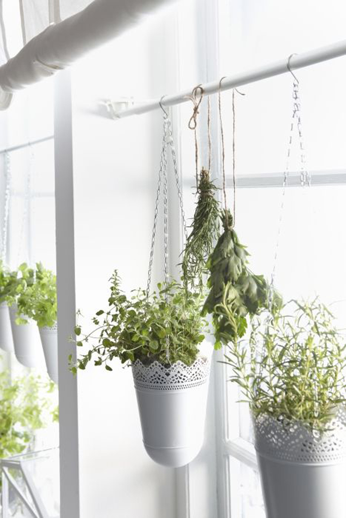 hanging ikea planters