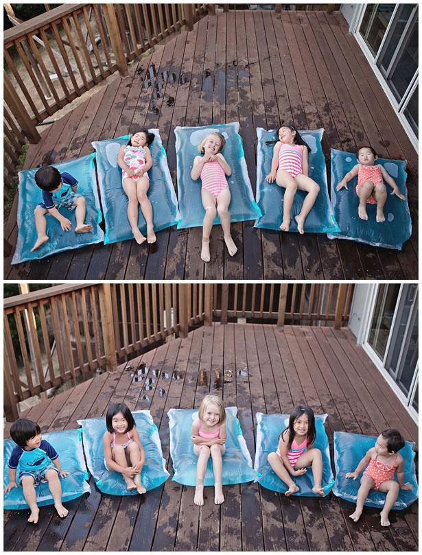 Make mini water blobs - so great in summer!