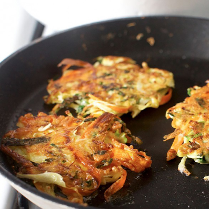Vegetable Pancake recipe - no eggs
