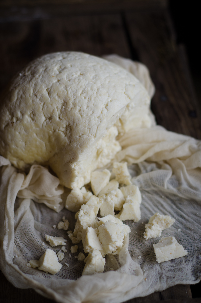 Simple farmhouse cheese recipe - so easy