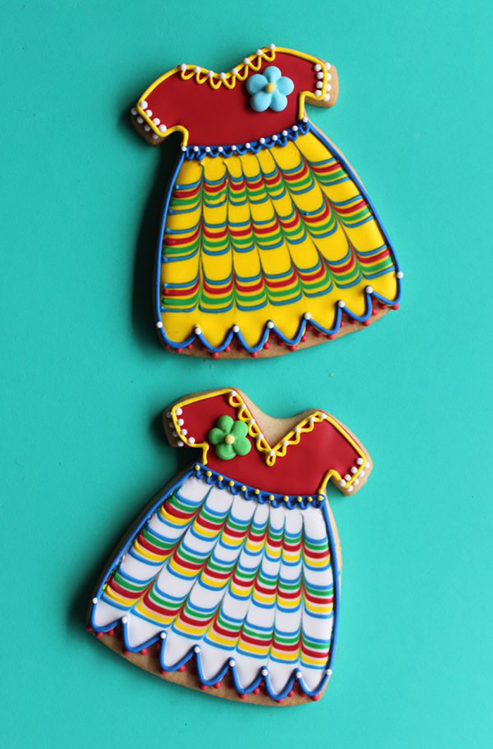 How to decorate Fiesta Cookies!