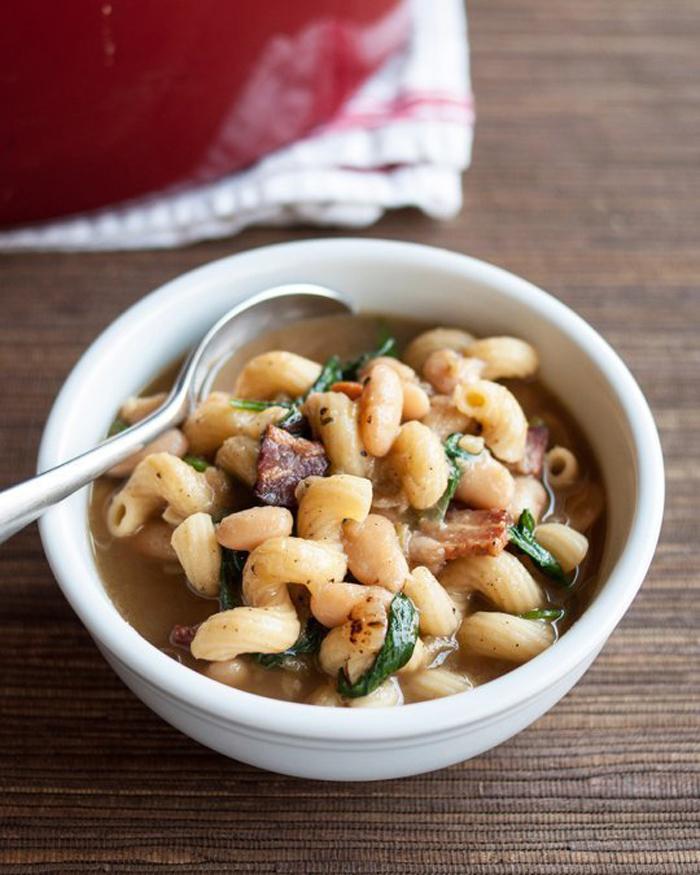 One-Pot Pasta e Fagioli (Italian Bean and Pasta Stew with Bacon)