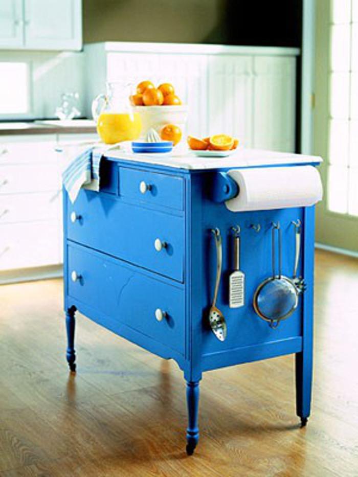 Dresser to Kitchen Island