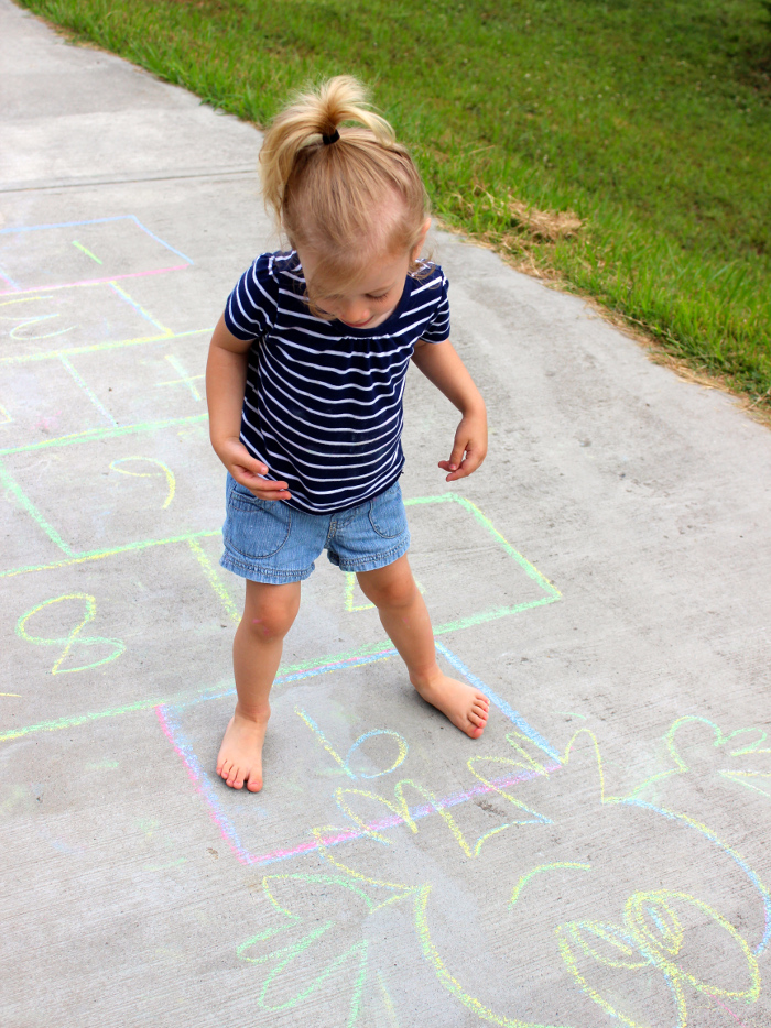 Hopscotch and other Chalk Games