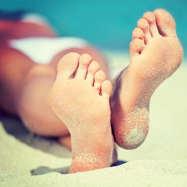 Get your feet beach ready in 5 days!