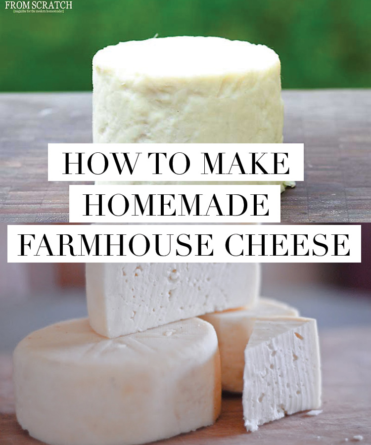 How to make FARMHOUSE CHEESE - easier than you think!
