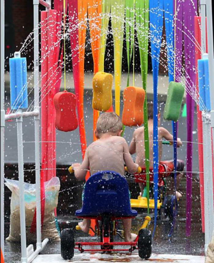 kids bike wash