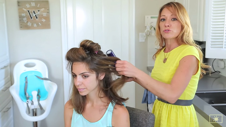 5 minute blowout hairstyle
