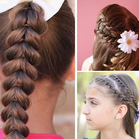 13 braided hairstyle tutorials for girls! LOVE THESE!!