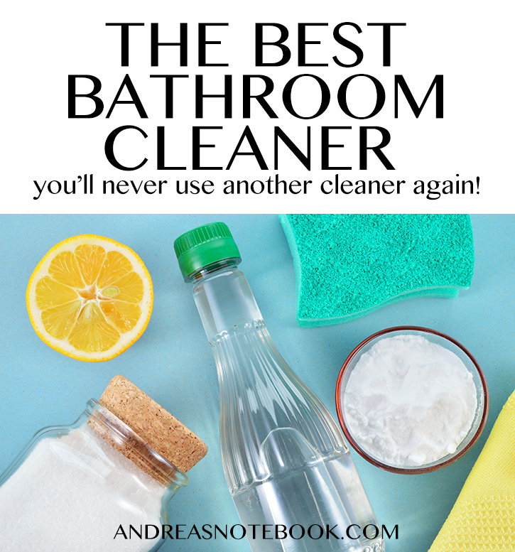 The Best Bathroom Cleaner Youll Ever Use