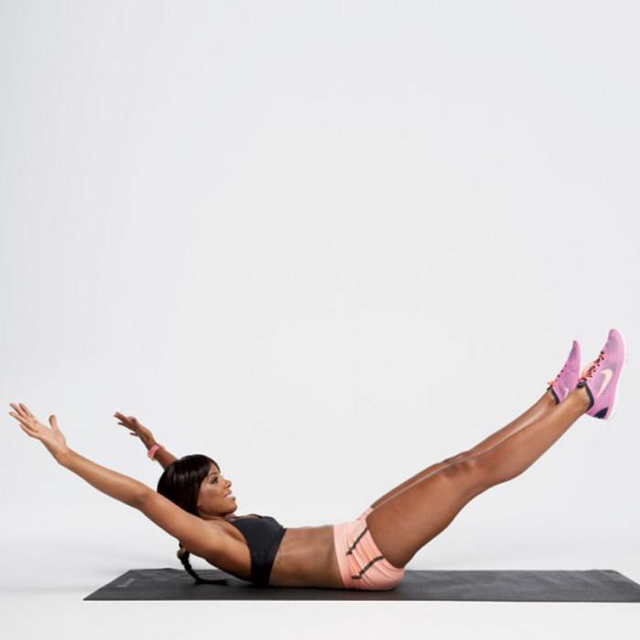 Kelly Rowland's Celebrity Workout