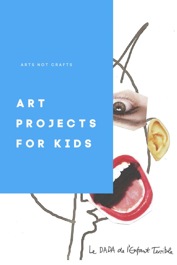 art projects for kids face art
