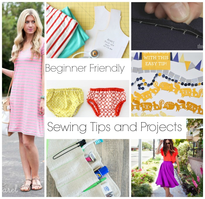 Awesome beginner sewing projects!