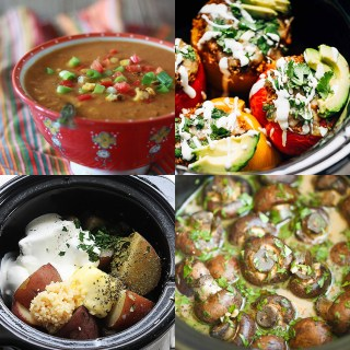30 Vegetable Crock Pot Recipes (these all look amazing!)