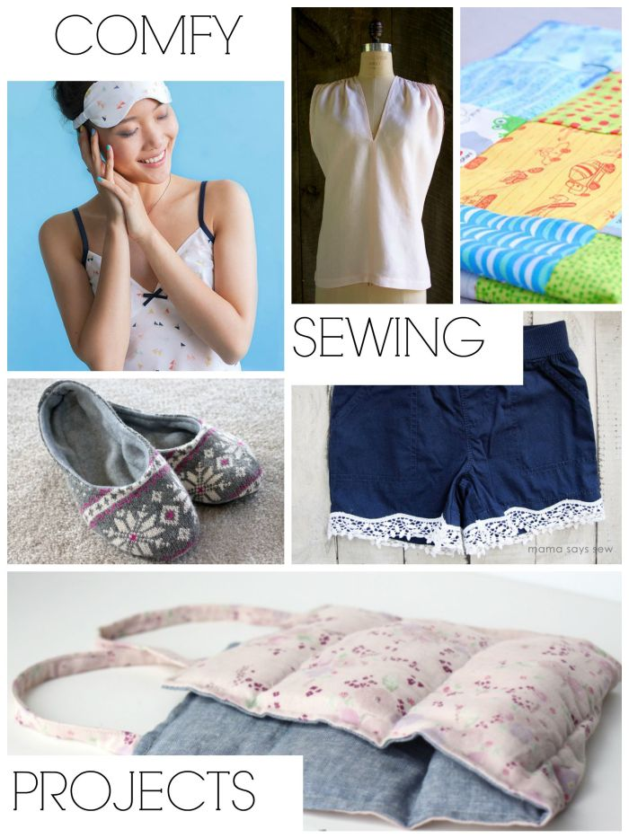 Slow Sewing and Comfy Sewing Projects on Sewtorial