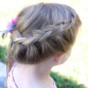 Princess Braid Hair Tutorial