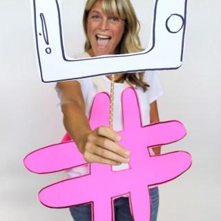 #selfie hashtag costume