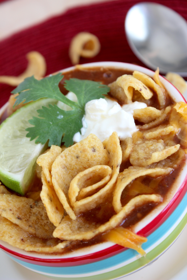 Taco Soup in 15 minutes
